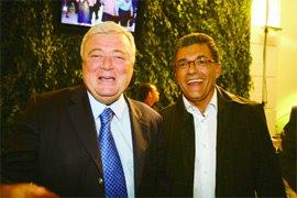 Fernando Sarney e Ricardo Teixeira