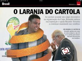 ronaldo laranja