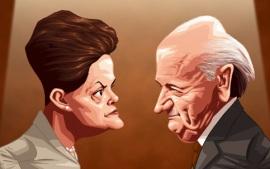Dilma tem que exigir documentos de Blatter