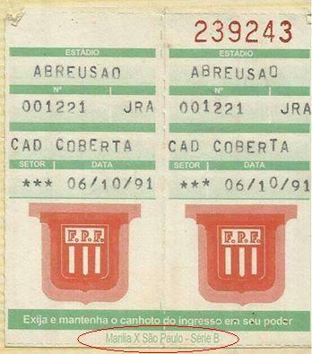 spfc serie b 1991