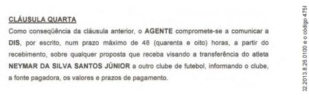 neymar contrato