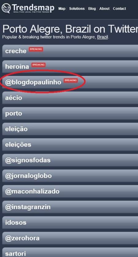 blog do paulinho - twitter porto alegre - 07-10-2014
