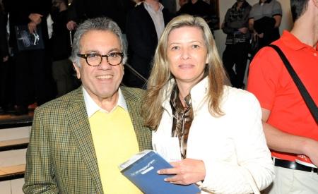 Carlos Miguel Aidar e Cinira Maturana