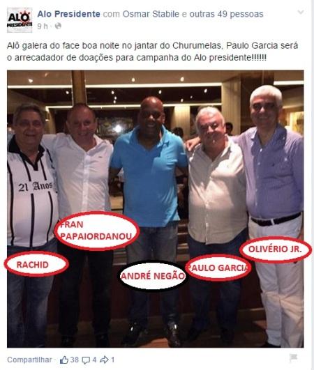 Paulo Garcia e negão churumelas