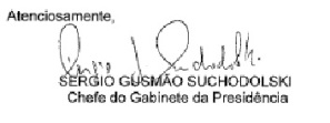 assinatura gabinete bndes