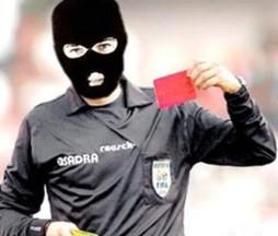 árbitro ladrão