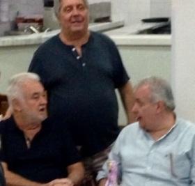 Paulo Garcia, Rachid e Roberto Andrade